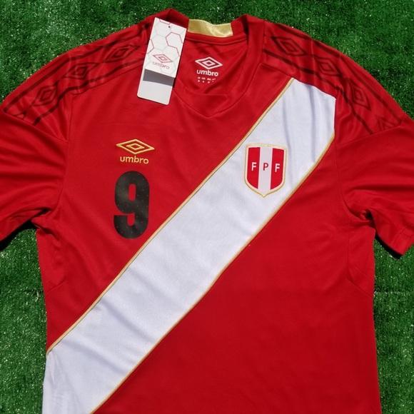 2018 Peru away soccer jersey Guerrero 4059ea7d1